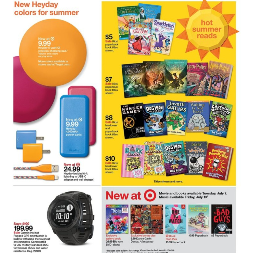 7-5 to 7-11 Target Weekly ad scan page 9