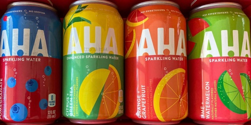 FREE AHA Sparkling Water at Kroger