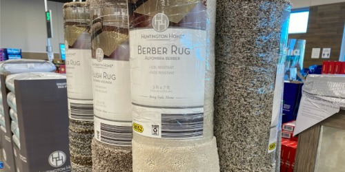 Huntington Home 5'x7′ Area Rugs Only $19.99 at ALDI