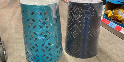 Mosaic Garden Stools Only $19.99 at ALDI