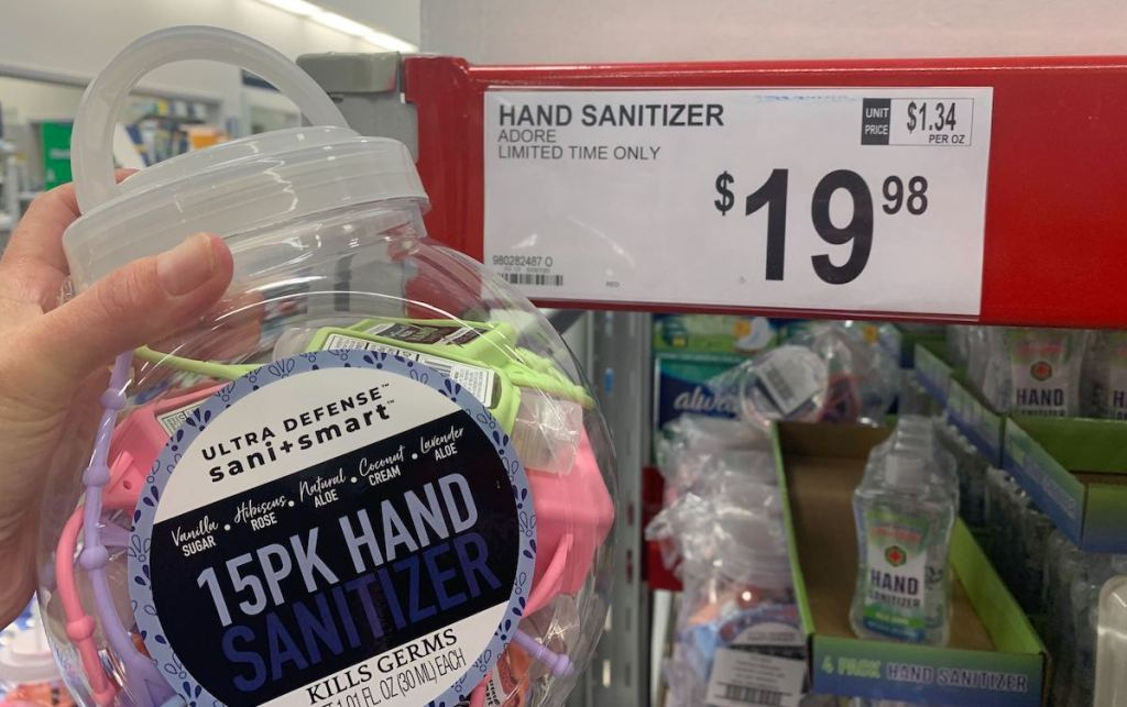 Adore Hand Sanitizers Pocketbacs