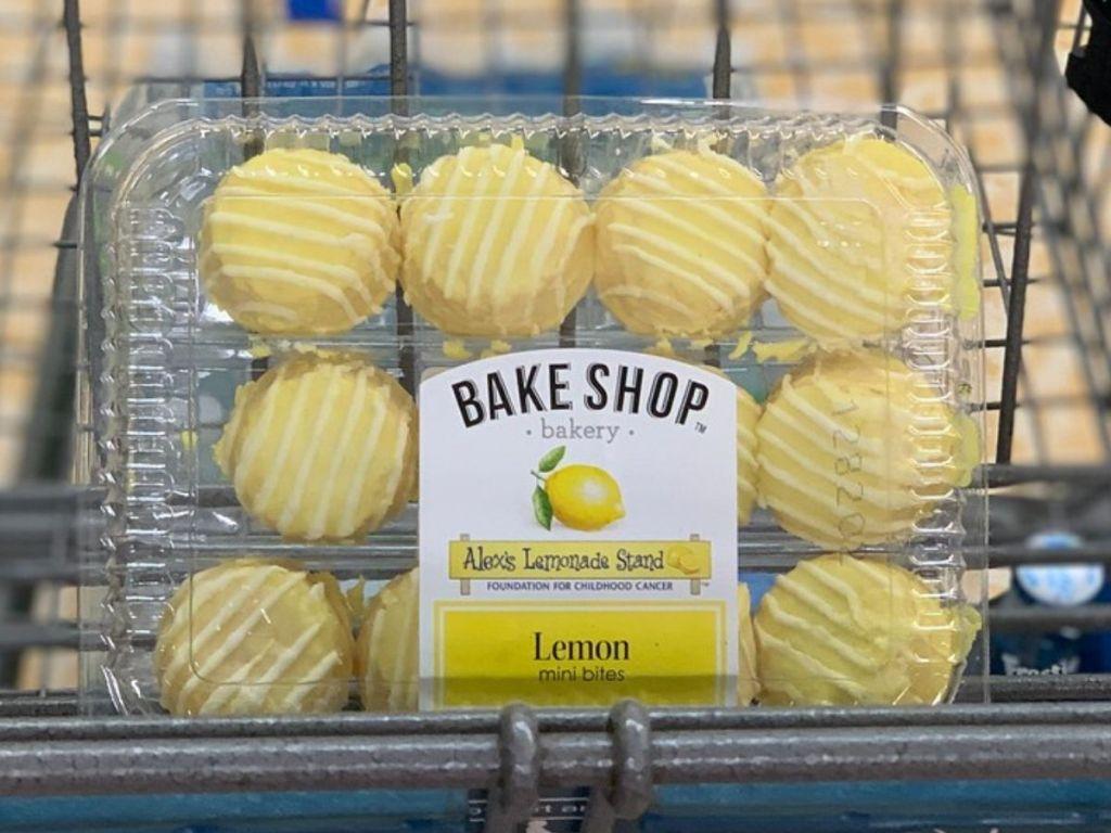 package of mini lemon cakes