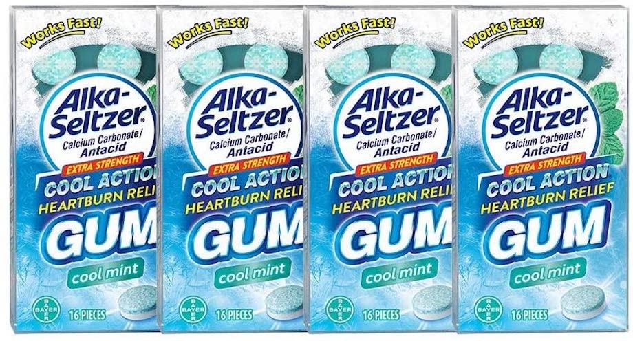 Alka Seltzer Gum 4-pack