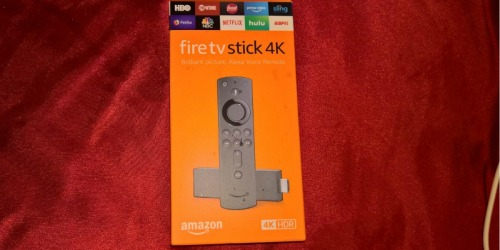 Fire TV Stick 4K w/ Alexa Voice Only $24.99 Shipped | Select Amazon Prime Members