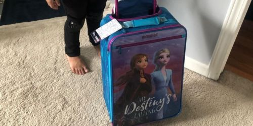 American Tourister Disney Frozen Luggage Just $22.50 on Amazon (Regularly $50)
