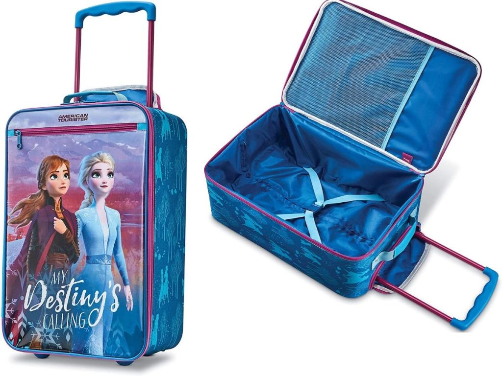 kids suitcase with handle
