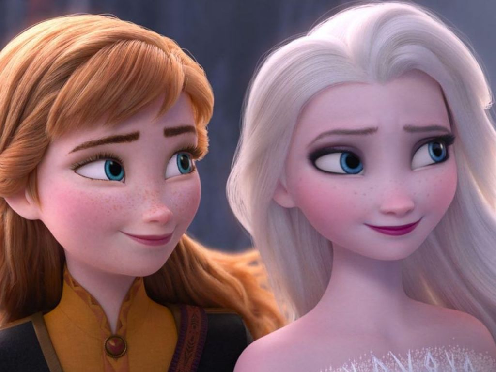 Ana and elsa from Frozen 2