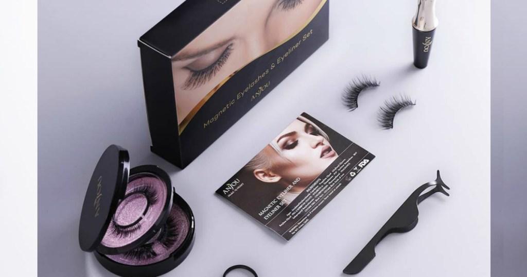 false eyelashes kit