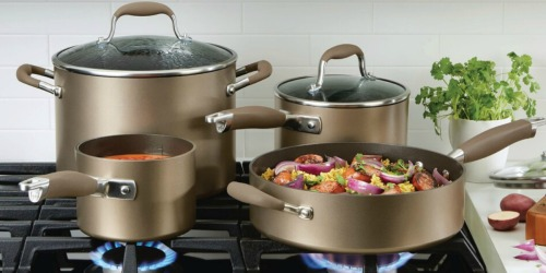 Anolon 11-Piece Cookware Set Only $167.99 Shipped + Get $30 Kohl's Cash | Great Reviews