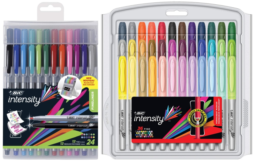 BIC markers in value packs