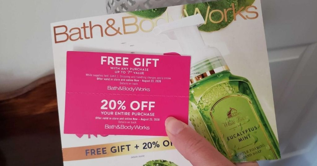 New Bath Body Works Coupon Booklet W Freebie Offer Hip2save