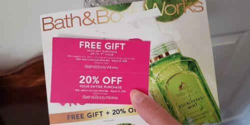 New Bath & Body Works Coupon Booklet w/ Freebie Offer