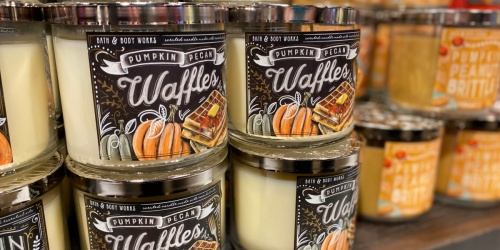 Bath & Body Works 3-Wick Candles Just $14.50 (Regularly $24.50) | Stock up on Fall Scents