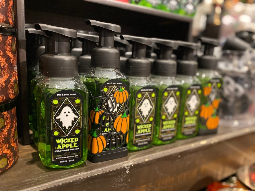 Halloween soaps at Bath & Body Works