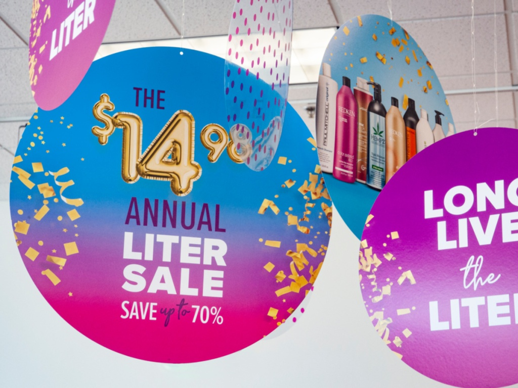 Beauty Brands Annual Liter Sale