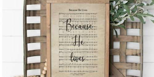 Farmhouse Hymn Prints from $7.93 Each Shipped (Regularly $20) – ANY Size
