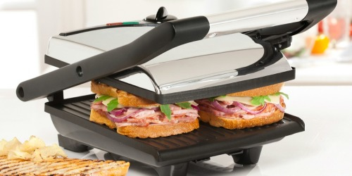 Bella Non-Stick Panini Press Just $14.99 Shipped on Macys.com (Regularly $50)
