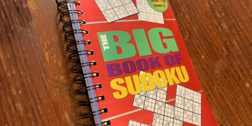 Big Book of Sudoku Only $3 on Amazon (Regularly $8) | Great Reviews