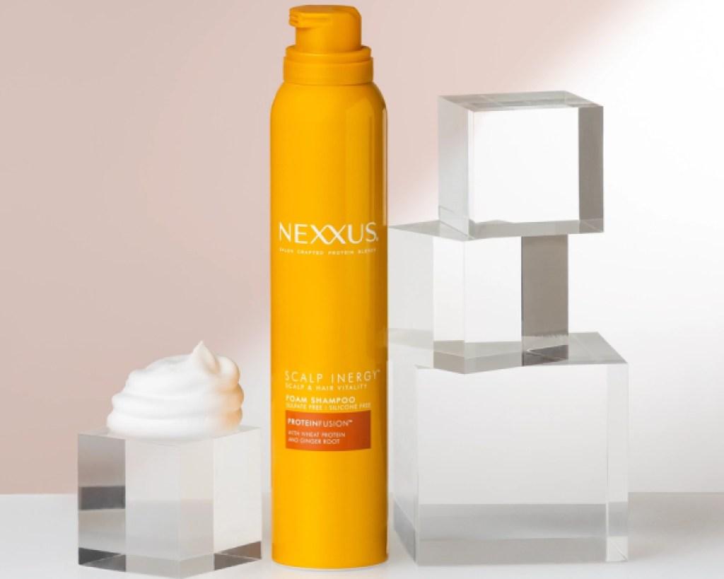 nexxus scalp inergy foam shampoo