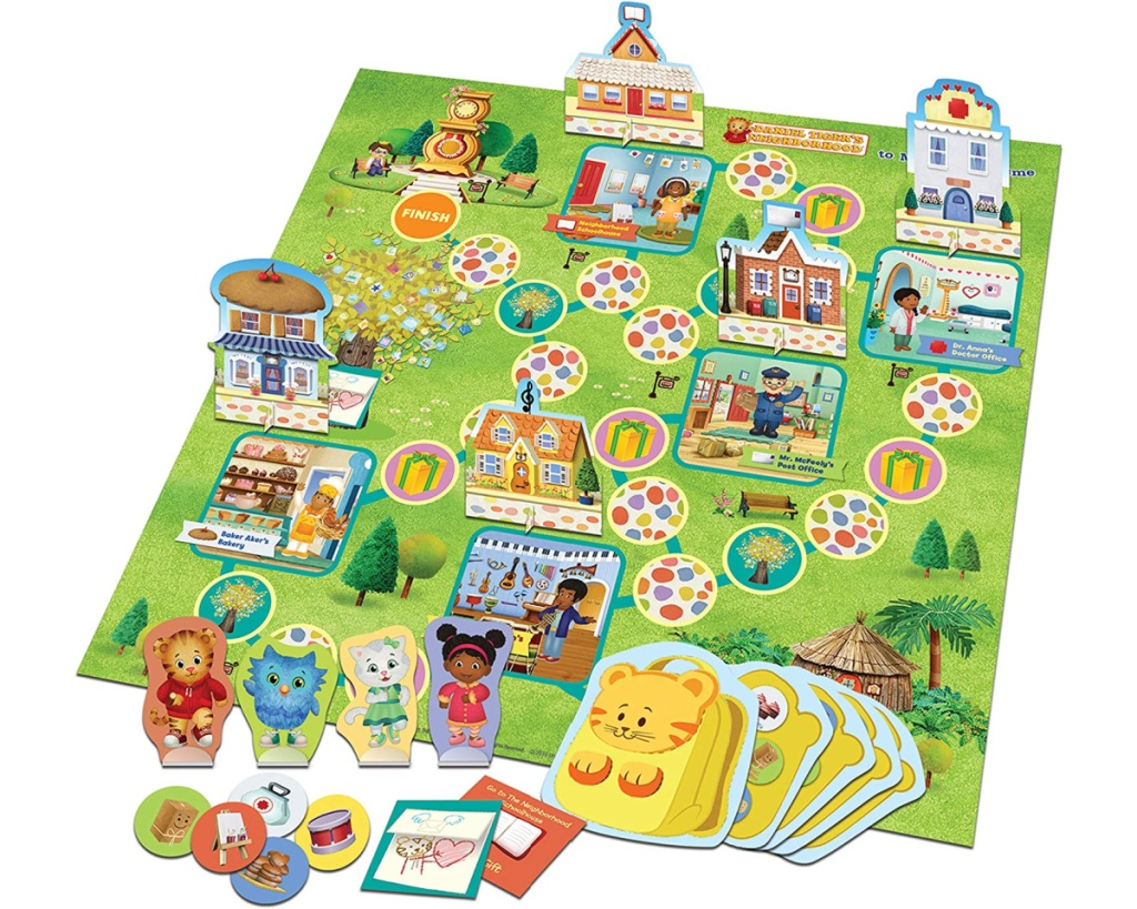 daniel tiger board game