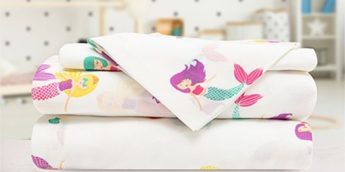 Sheet Sets from $12.99 on Zulily.com | Mermaids, Bears, Roses & More