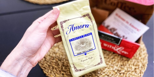 *HOT* Amora Premium Blend Coffee Half-Pound Bag AND Coffee Mug Only $1 Shipped