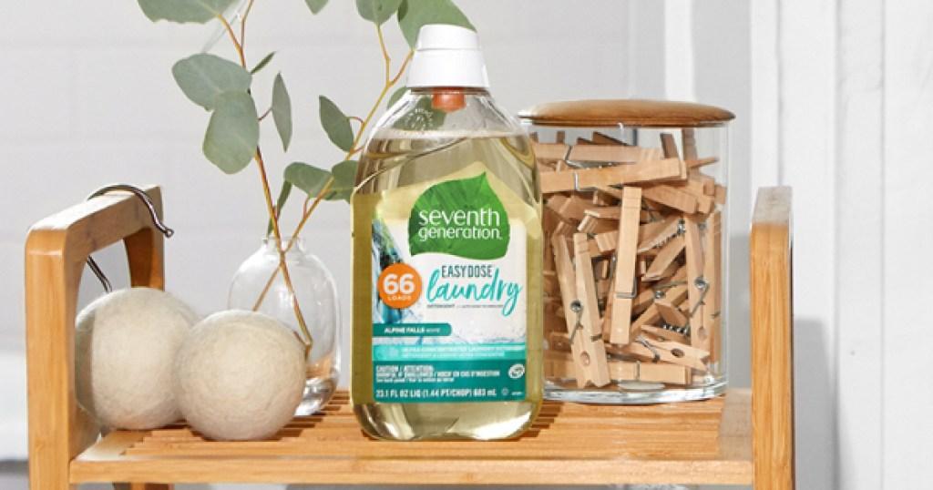 seventh generation laundry detergetn