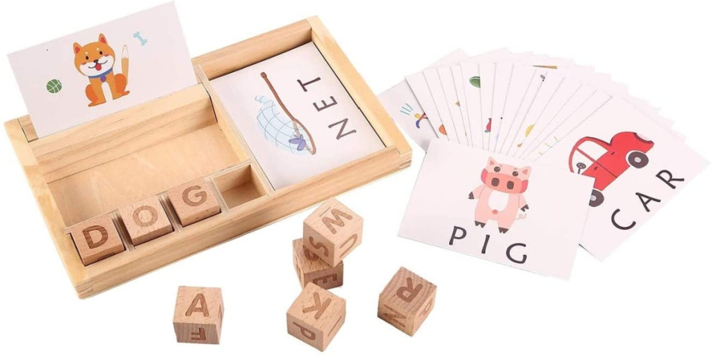 matching letter set for kids puzzle pieces