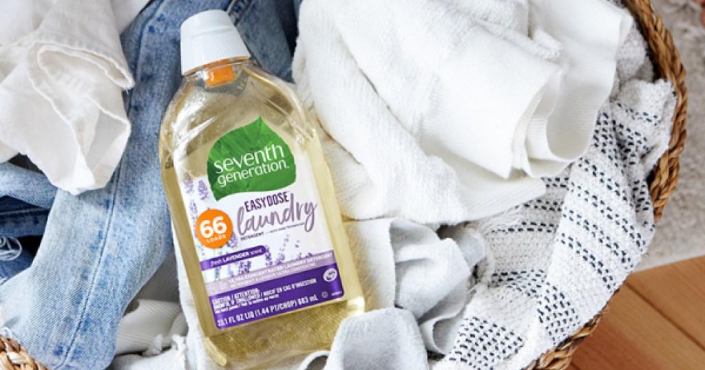 seventh generation laundry detergent