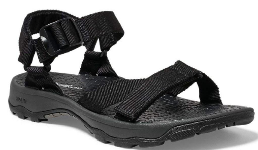 eddie bauer mens sport sandal black