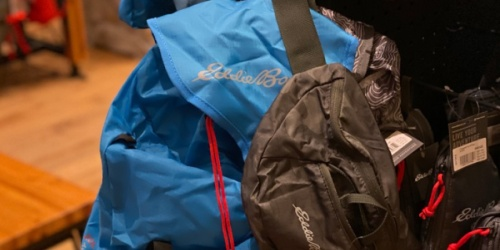 50% Off Everything + Free Shipping = Eddie Bauer Daypacks Only $15 Shipped