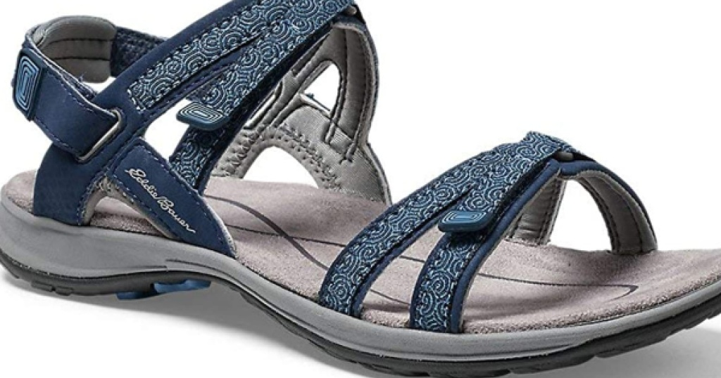 eddie bauer womens esker sandal blue