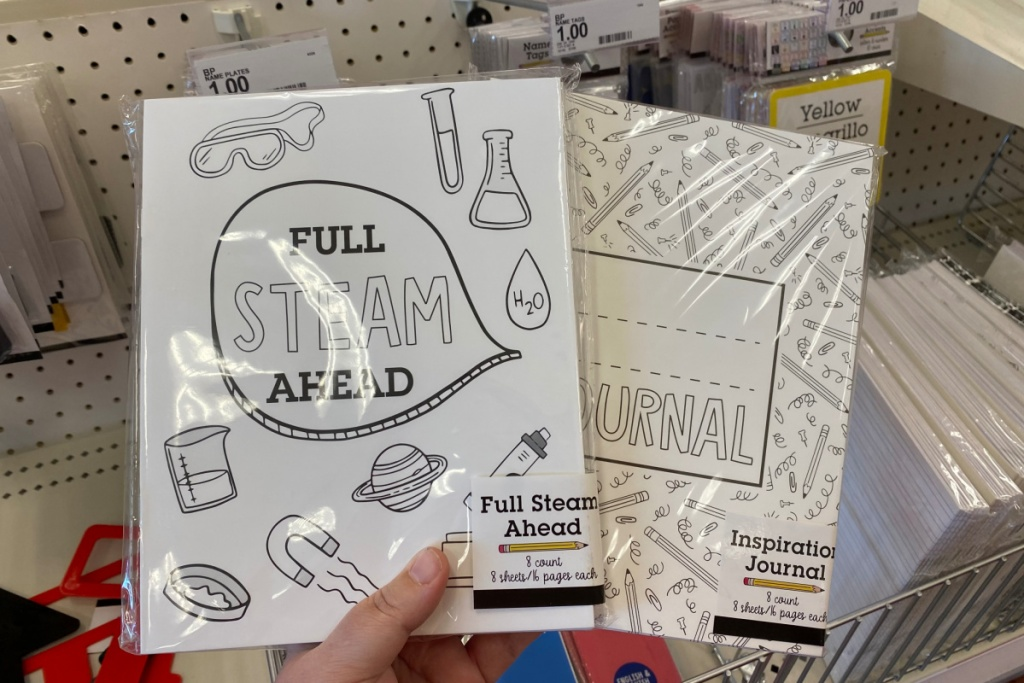journal wokrbooks at target in store