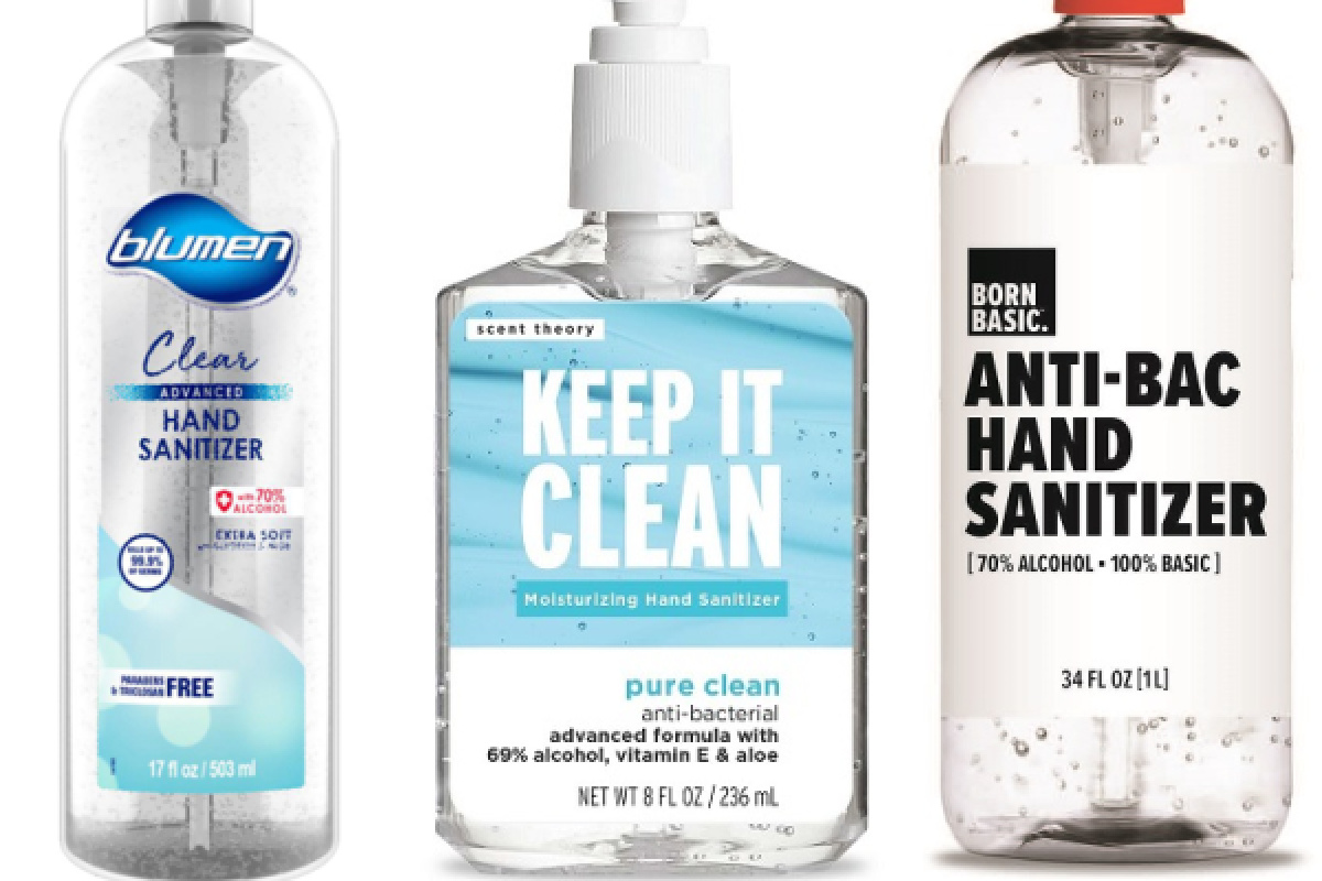 stock images of bottles of recalled hand sanitizers blumen