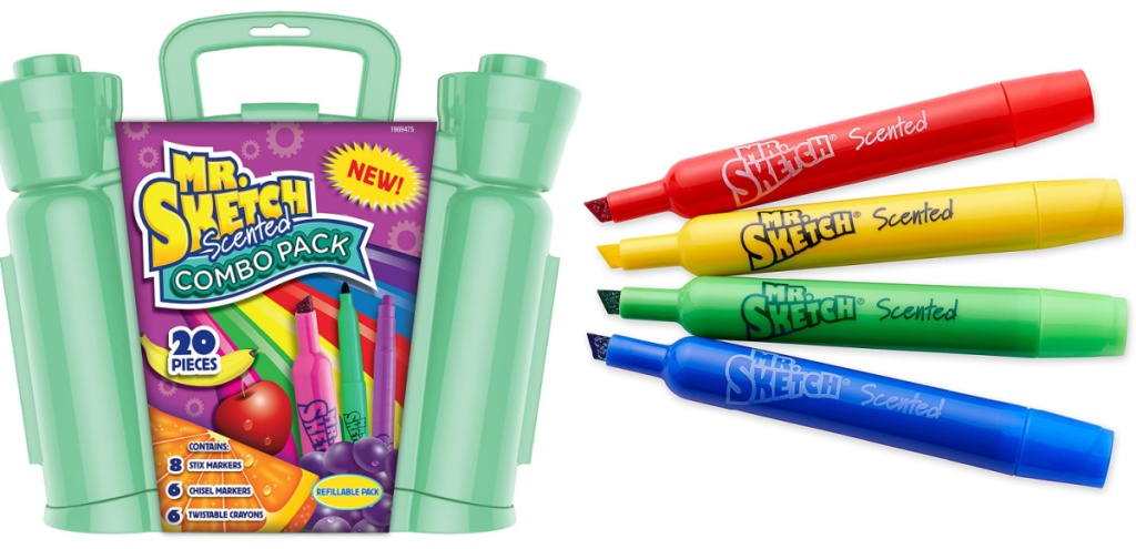 mr sketch combo markers box and markers