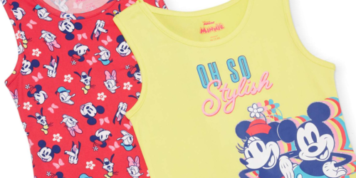 Girls Dresses 2-Pack Only $9.50 on Walmart (Regularly $13) | Minnie Mouse, Trolls & More