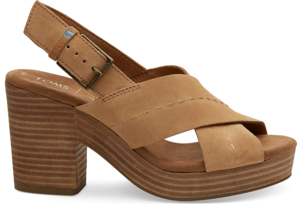 TOMS womens ibiza heeled sandal