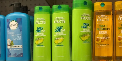 Garnier Fructis Shampoo or Conditioner Just 89¢ Each Shipped on Walgreens.com