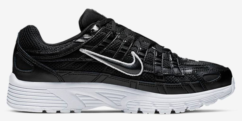 nike p-6000 shoe to the side