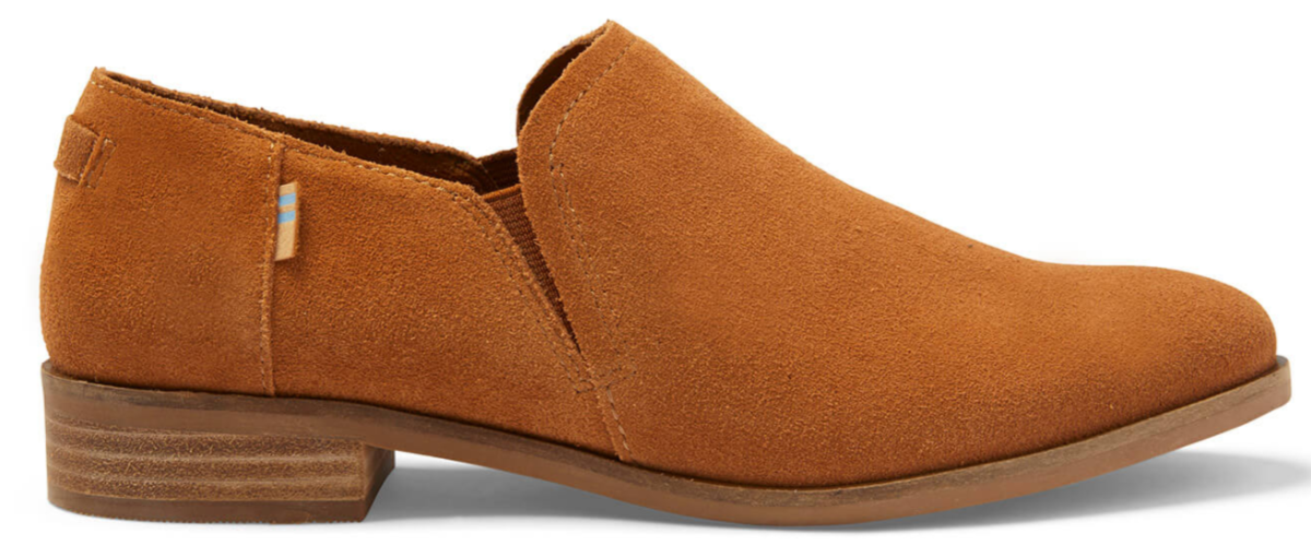 TOMS womens shaye low booties
