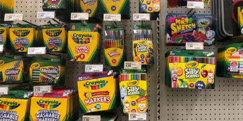 50% Off Crayola Markers, Paint, Paper & More on Michaels.com