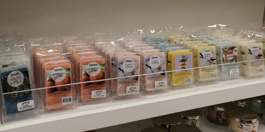 Sonoma goods for life wax melts variety in store