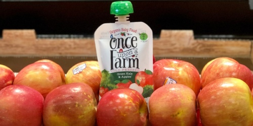 50% Off Once Upon a Farm Organic Baby Food at Target | Just Use Your Phone