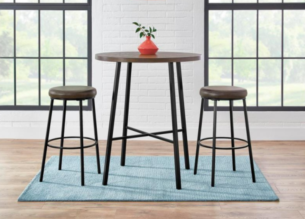 stylewell 3-piece dining set two chaird and table