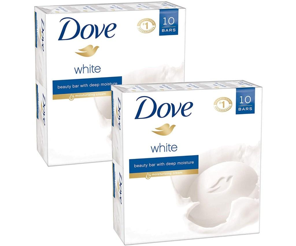 dove white soap 20-pack