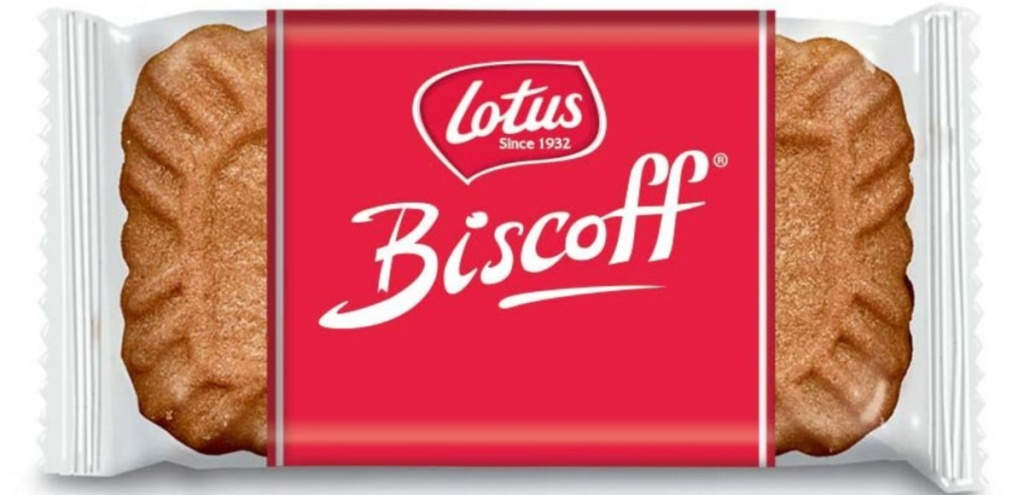 lotus biscoff cookies single in wrapper