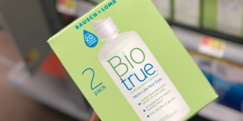 Bausch + Lomb Contact Solution 2-Pack Only $5.99 at Walgreens