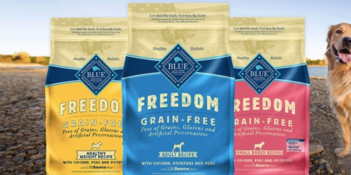 Blue Buffalo Natural Adult Dry Dog Food 24-lb. Bag Only $24 Shipped on Amazon (Regularly $54)