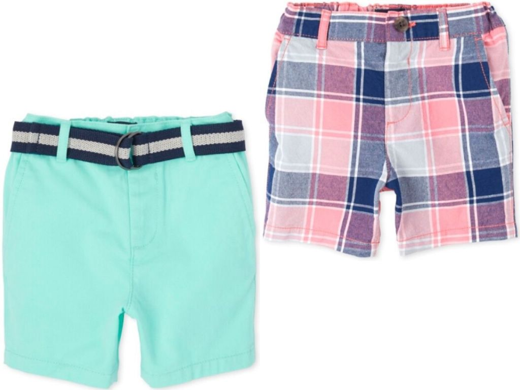 two pairs of boys shorts