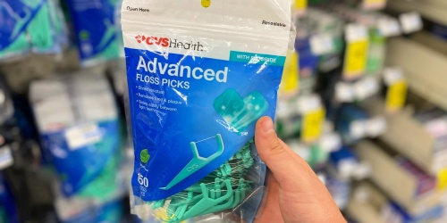 FREE CVS Health 150-Count Floss Picks | In-Store & Online